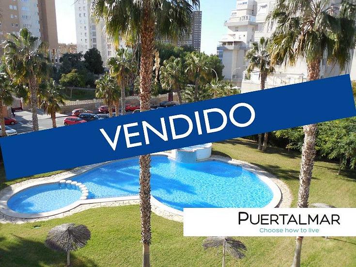 Piso en Cabo de las Huertas - Alicante.  4 Hab, 2 baños, Garaje Piscina