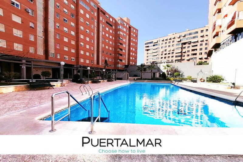 Piso en José Luis de la Vega - Parque Avenidas - Alicante:  2 Hab, 1 baño