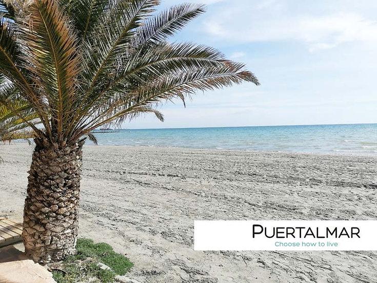 Piso en Playa Santa Pola - Alicante.  3 Hab, 1 baño