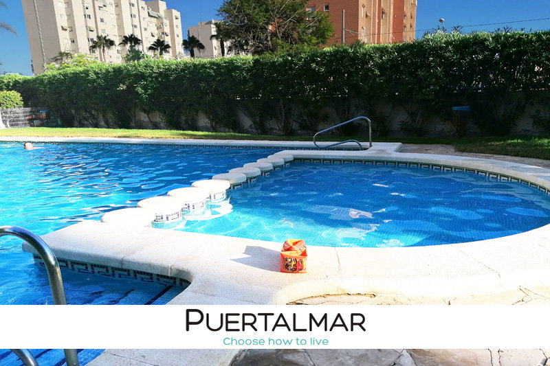 Piso Av. Oviedo - Playa de San Juan - Alicante.  2 Habitac.  c/ Piscina, Parking