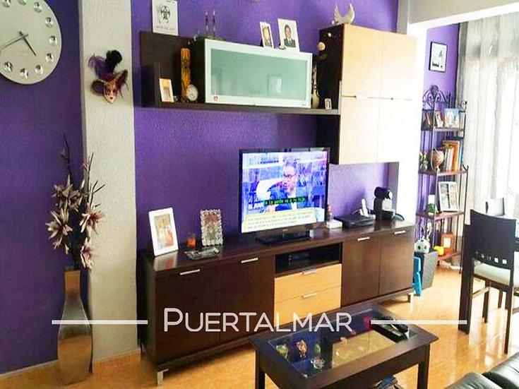 Piso en calle Herrero Arias - Pla del Bon Repos - ALICANTE:  2 Hab, 1 baño