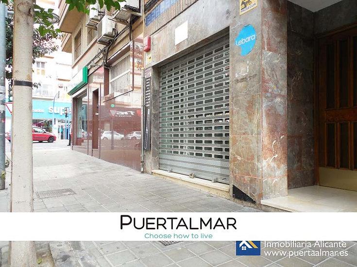 Local a pie de calle en Benalúa - Alicante:  a metros del Corte Inglés y RENFE