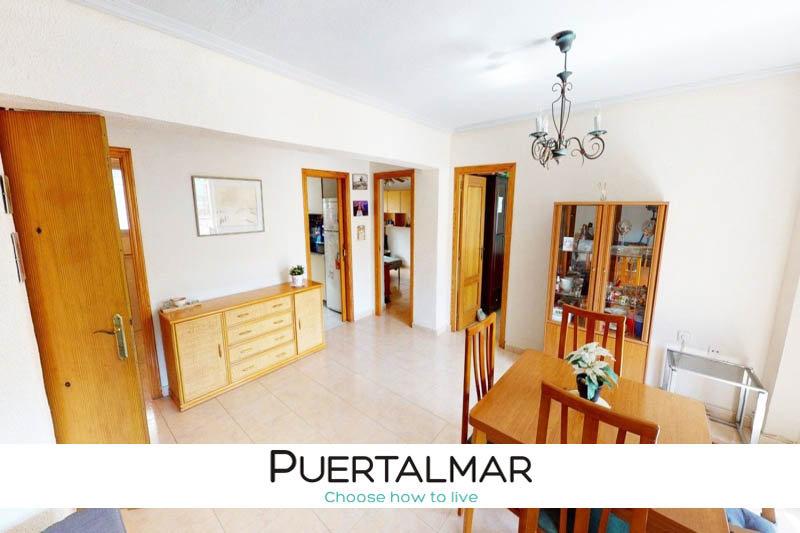 Piso en calle Angel Aznar - Alipark - Alicante.  2 Hab. dobles, 1 baño