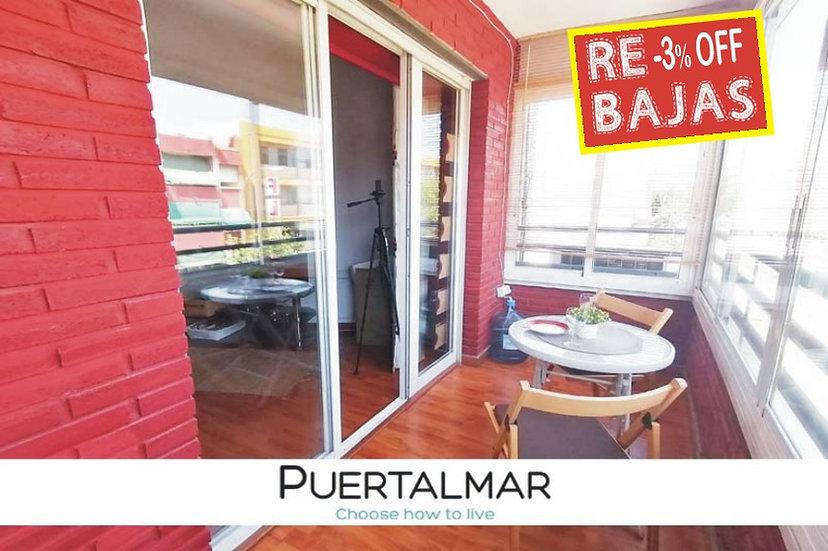 Piso en Av. Orihuela - Florida Alta - Alicante:  2 Hab, 1 baño.