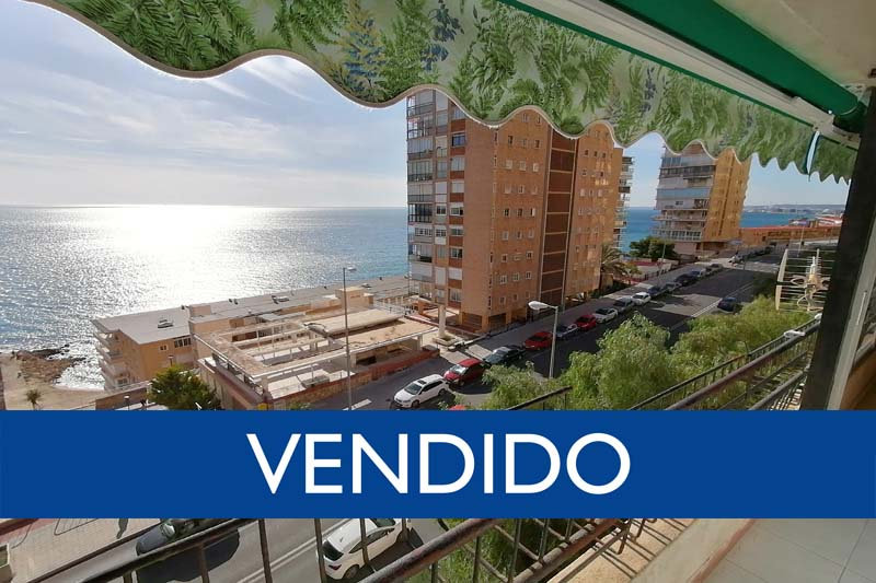 Piso en Playa Albufereta - Alicante.  3 Hab, 2 baños.