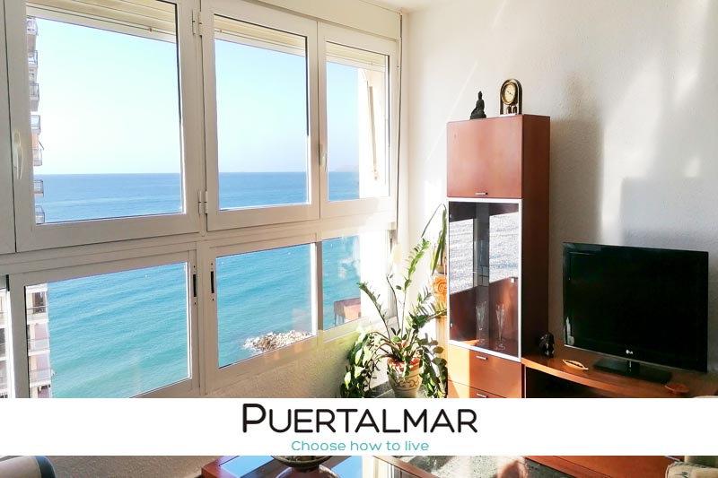 Gran Piso en Playa Albufereta - Alicante.  3 Hab, 1 baño