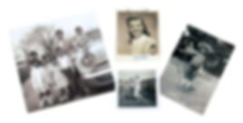 black and white and color photographic prints