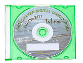 DVD disc in plastic jewel case