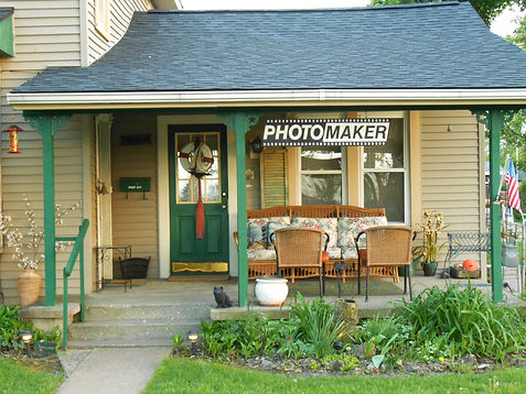 exterior photo of Photomaker Didital Conversions at Fifth and Jefferson in Port Clinton, Ohio