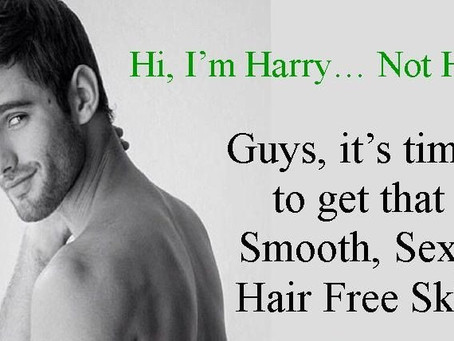 Hi! I'm Harry. Not hairy!