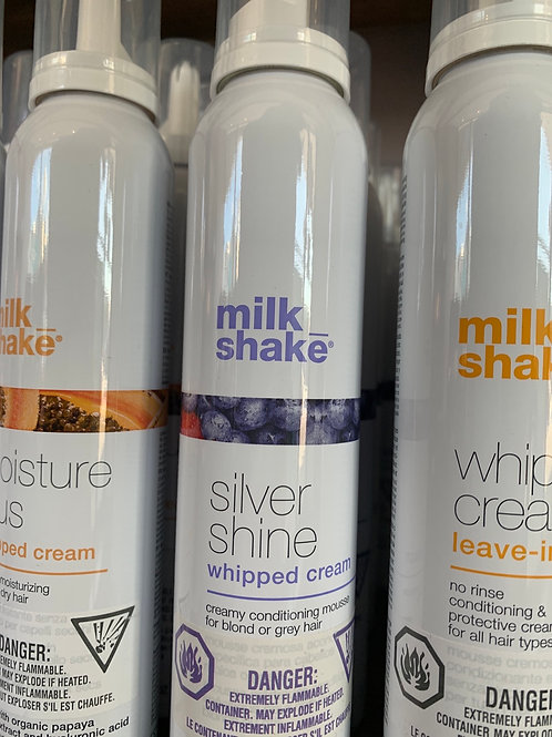 Silver shine whipped cream