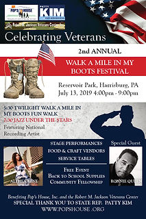 2nd Annual Walk A Mile In My Boots Flyer