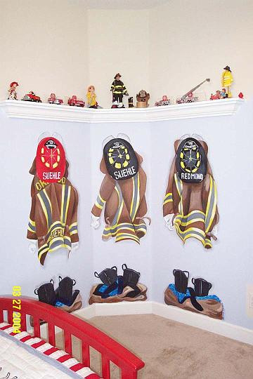 Firemen's Coats