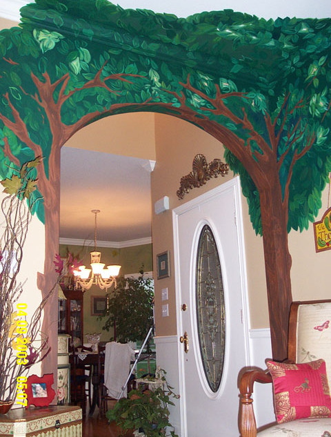 Tree Archway