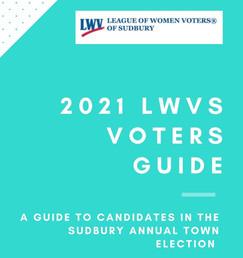 2021 LWV Sudbury Voters' Guide