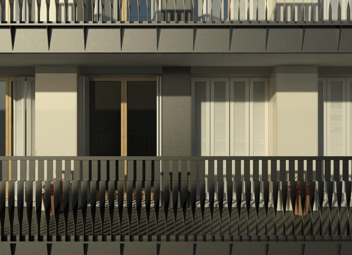 Fassadenstudie 2