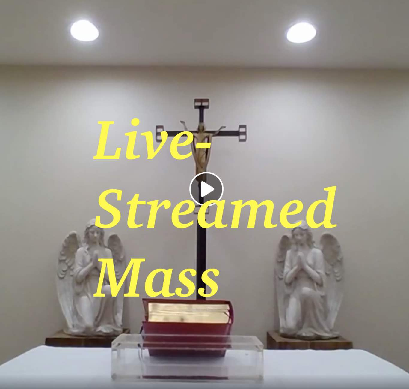 Live-streamed Mass