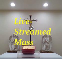 Live-streamed Mass