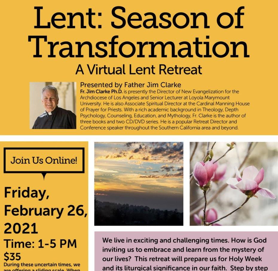 Lent season of transformation 2