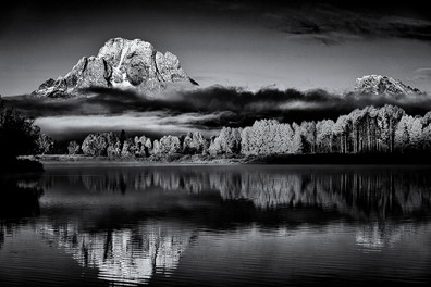 Morning Reflections, Oxbow Bend