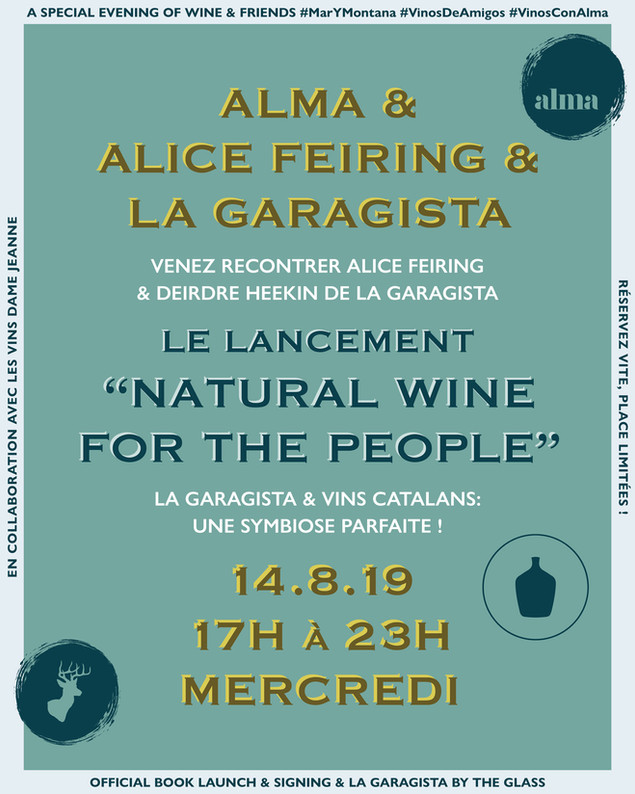 Alma & Alice Feiring & La Garagista