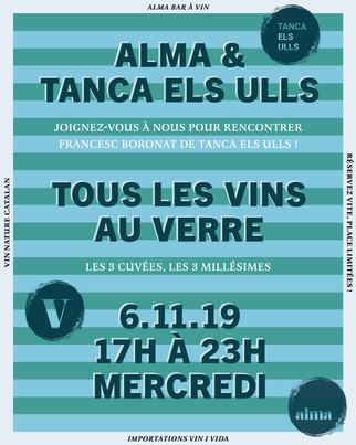 Alma & Tanca Els Ulls