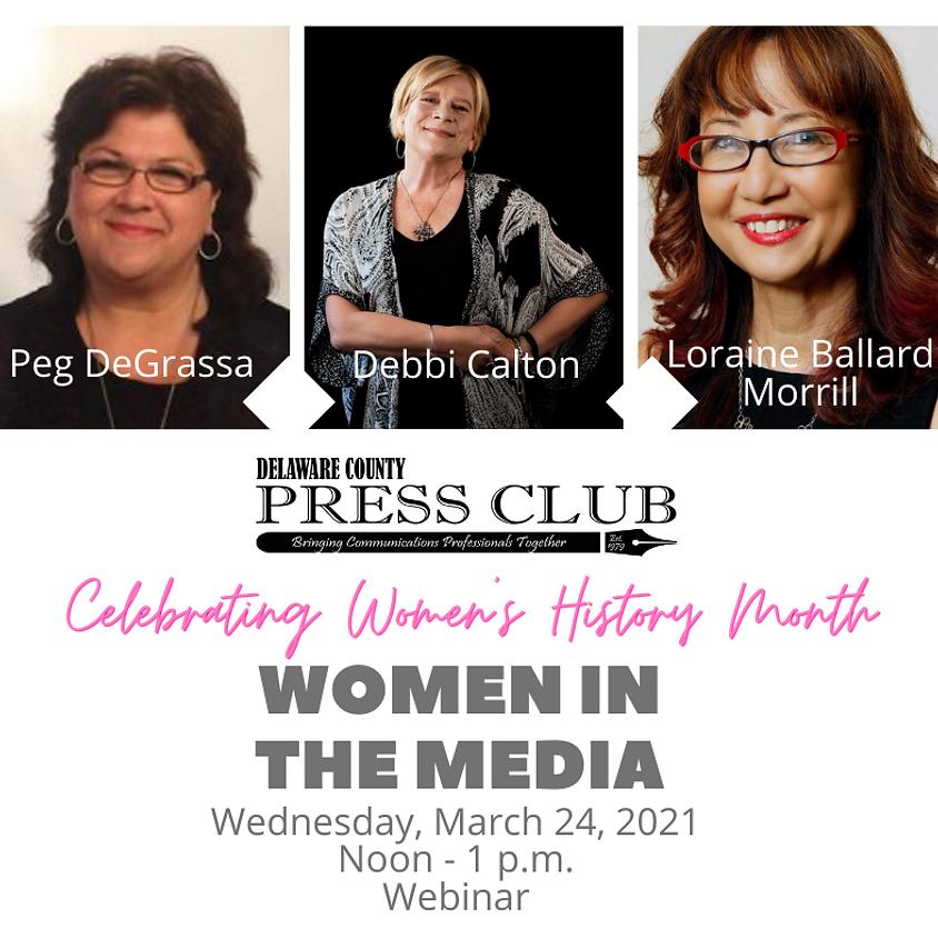 Women in the Media Webinar Panel