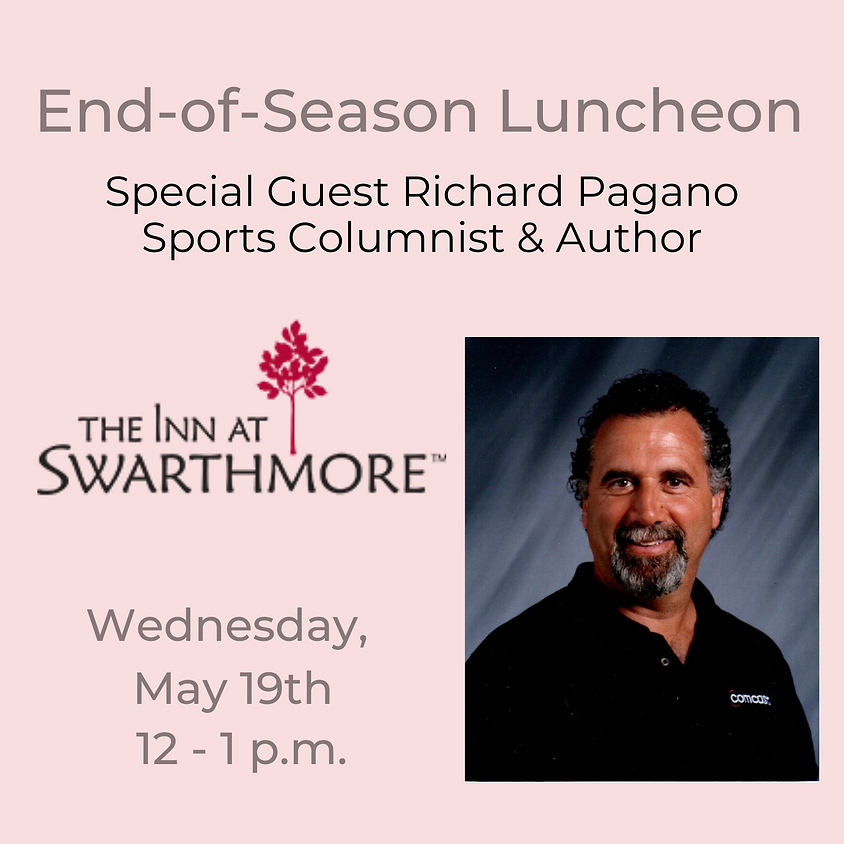 End-of-Season Luncheon with Richard Pagano