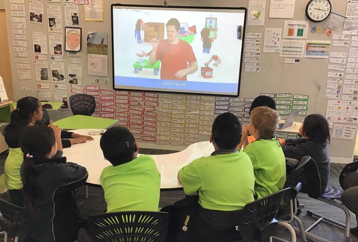 Jack Feels Big NZSL video for Deaf stude