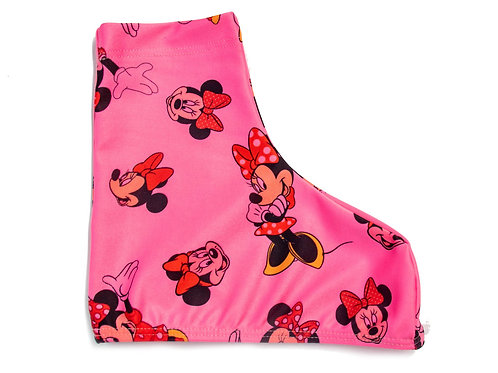 Roller Skate Boot Cover - Minnie Mouse