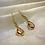 Thumbnail: Pink Pendant Earrings