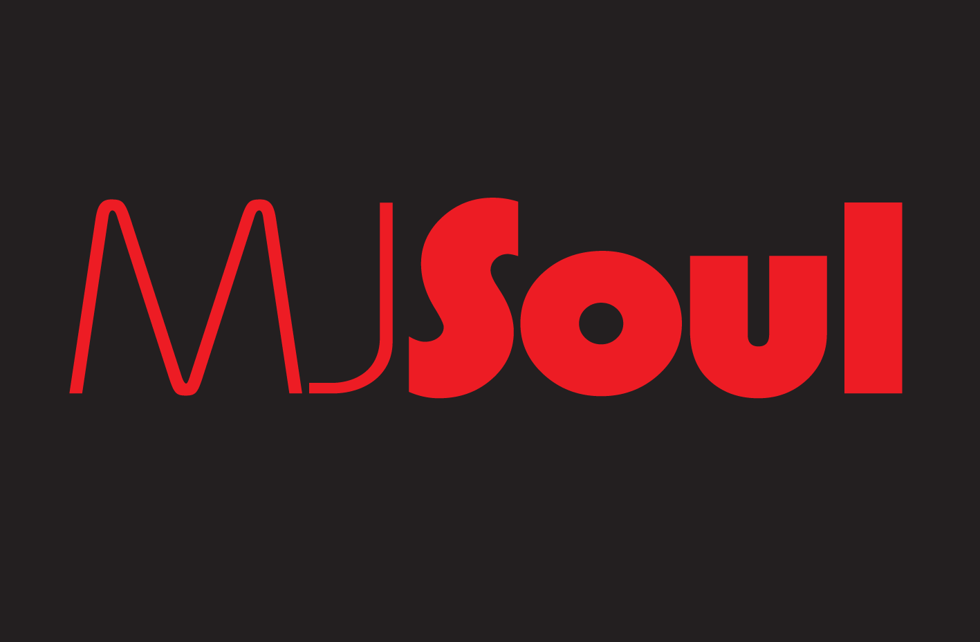 MJSoul red on black logo