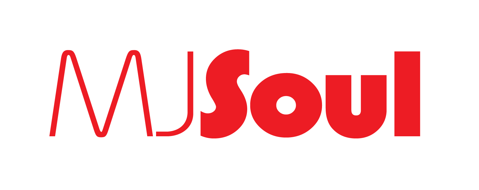 MJSoul red on white logo