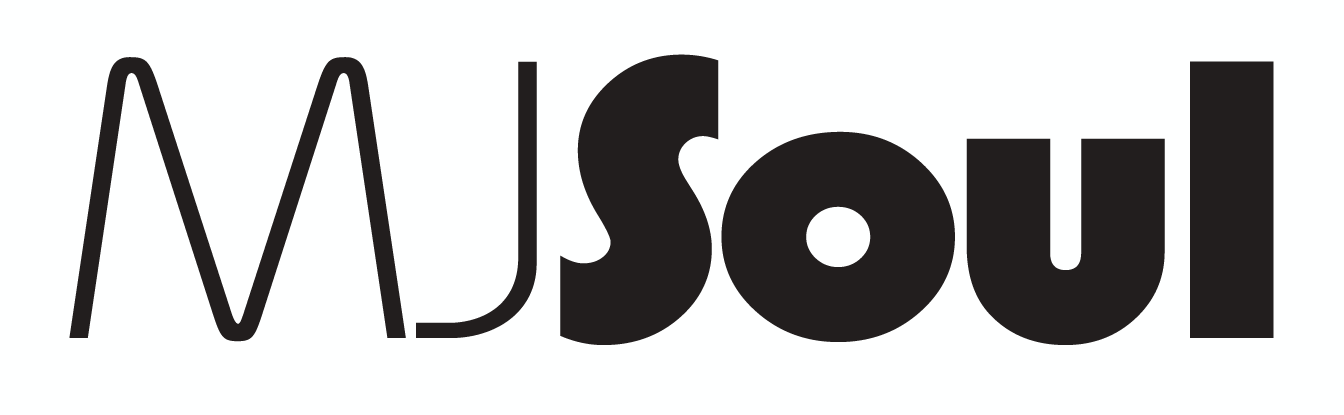 MJSoul black on white logo