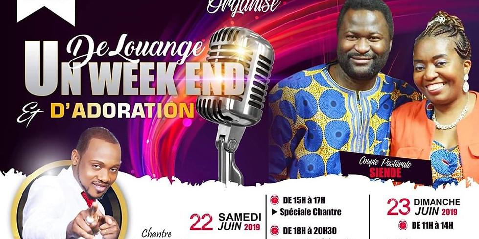 Weekend de Louange et d'Adoration avec David Mabilo