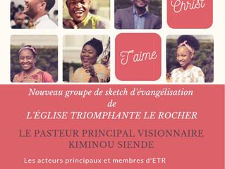 ETR Production et le Pasteur visionnaire Kiminou Siende vous présente : Le groupe d'évangélisation