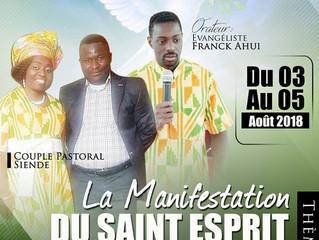 Weekend séminaire : Thème la manifestation du Saint Esprit