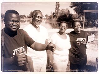 Baptême de Camille et Myrtha