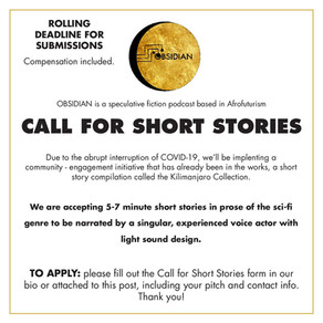 Call for Short Stories