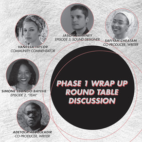 Phase 1 Wrap Up: Round Table Discussion