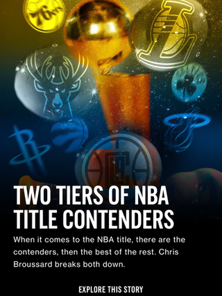 Two Tiers of NBA Title Contenders