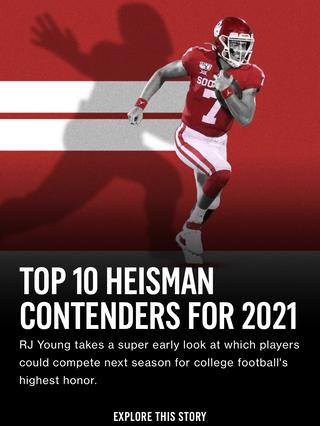 Top 10 Heisman Contenders For 2021