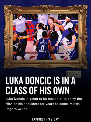 Luka Doncic is In a Class of His Own