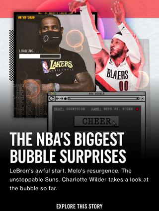 The NBA's Biggest Bubble Surprises