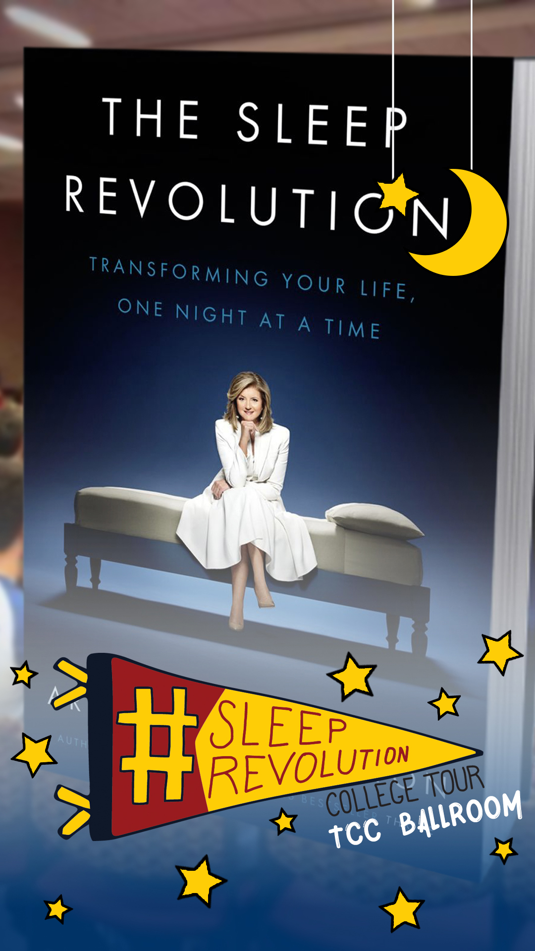Arianna Huffington Book Tour