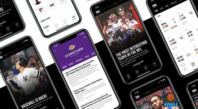 FOX Sports App + Website
