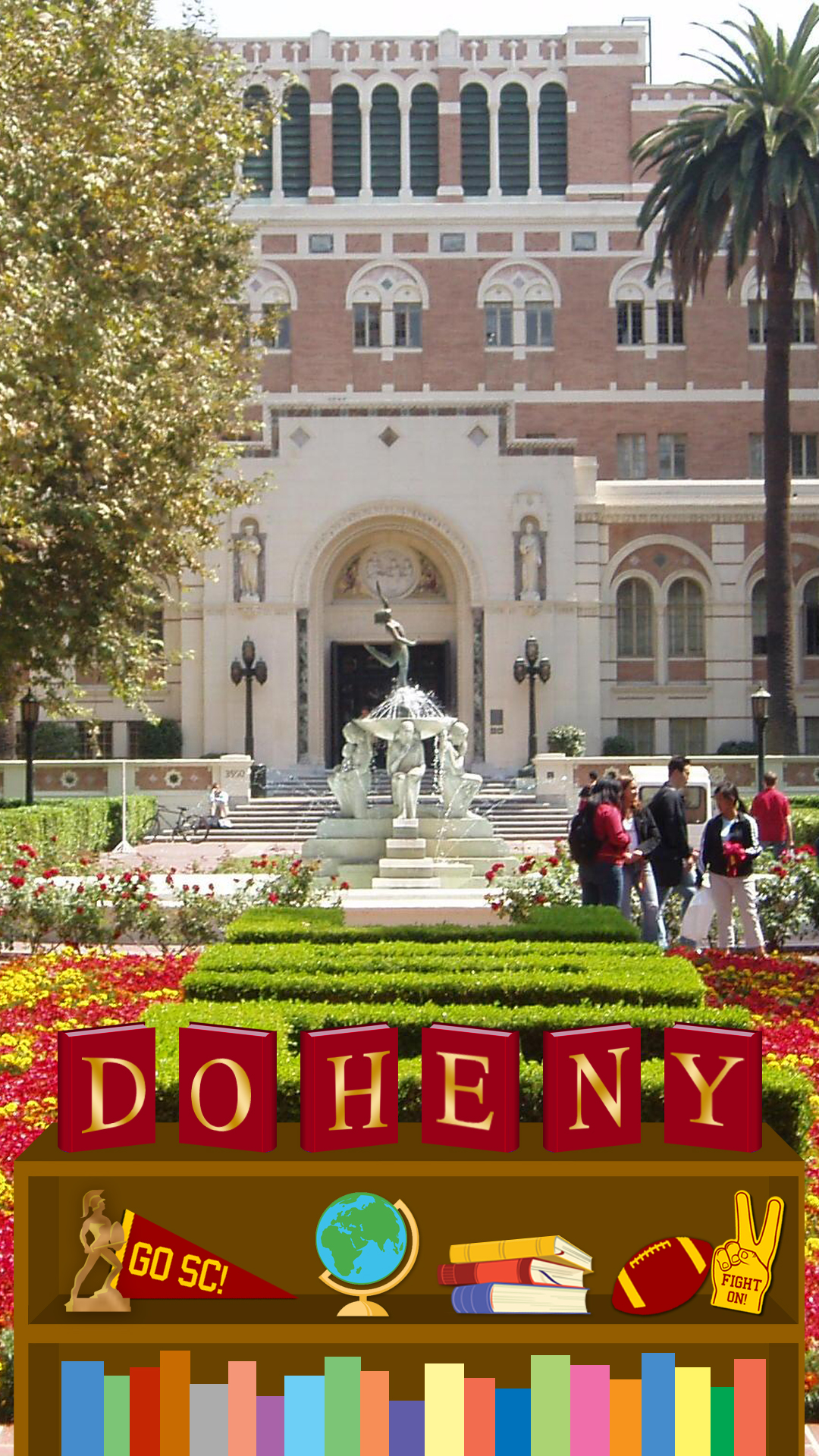 Doheny Library at USC