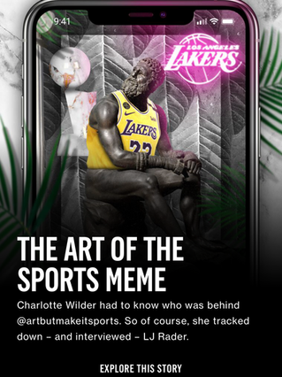 The Art of the Sports Meme