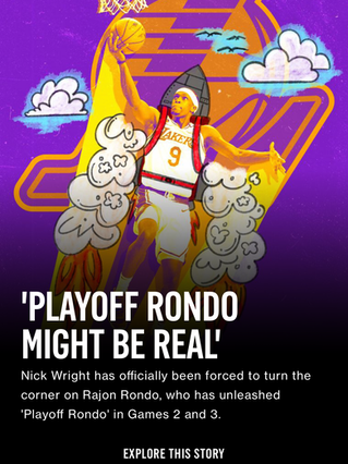 'Playoff Rondo Might Be Real'