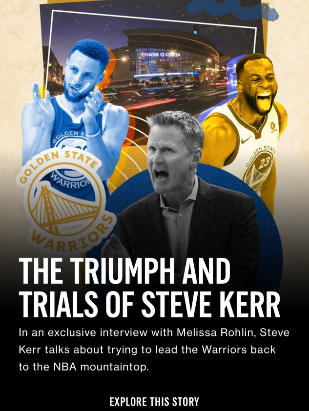 The Triumph and Trials of Steve Kerr